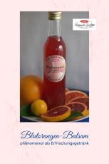 Blutorangen-Balsam-Frucht- Essig der Intensive
