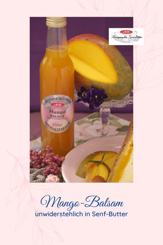 Mango-Balsam-Frucht-Essig Der Feine