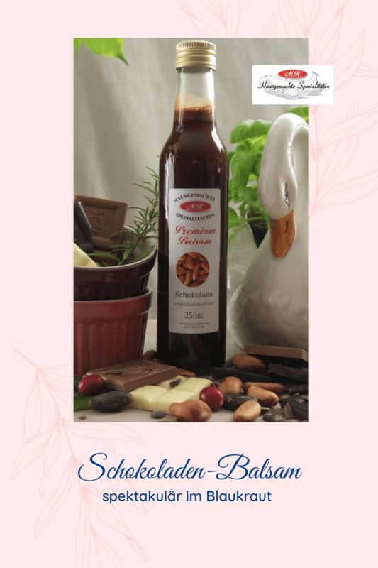 Premium-Balsam Schokolade-Essig-Zubereitung