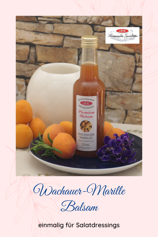 Premium-Balsam Wachauer-Marillen-Frucht-Essig Der Delikate