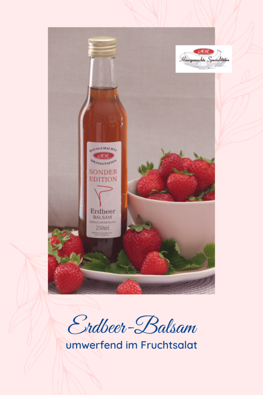 Erdbeer-Balsamessig Der Sensible