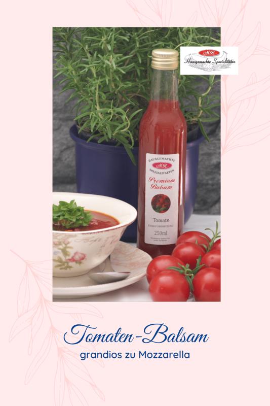 Premium-Balsam Tomaten-Essig-Zubereitung