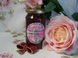 Rose-Lavendel-Sektmit essbaren Rosen - undLavendelbl